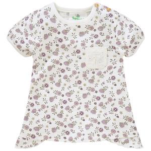 Baby T-Shirt mit Blümchen allover