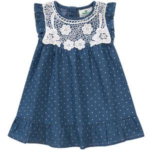 Baby Kleid mit Spitze