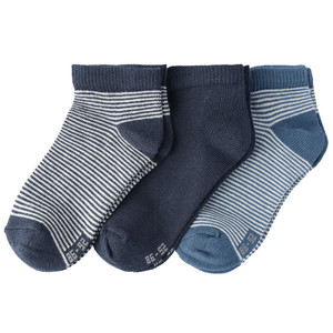 3 Paar Baby Sneaker-Socken im Set