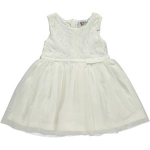 Mädchen Kleid mit Tüllrock und Spitze