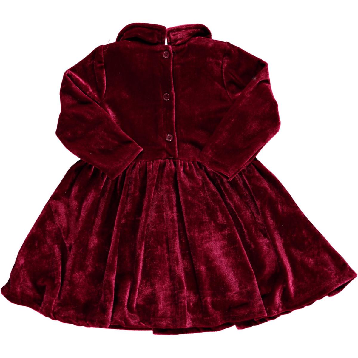 Bild 2 von Mädchen Kleid in zartem Samt