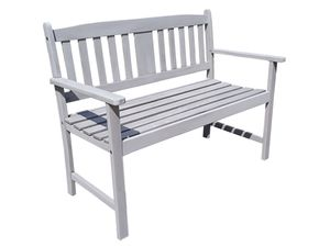 Garden Pleasure Bank STIRLING, 2-Sitzer, grau