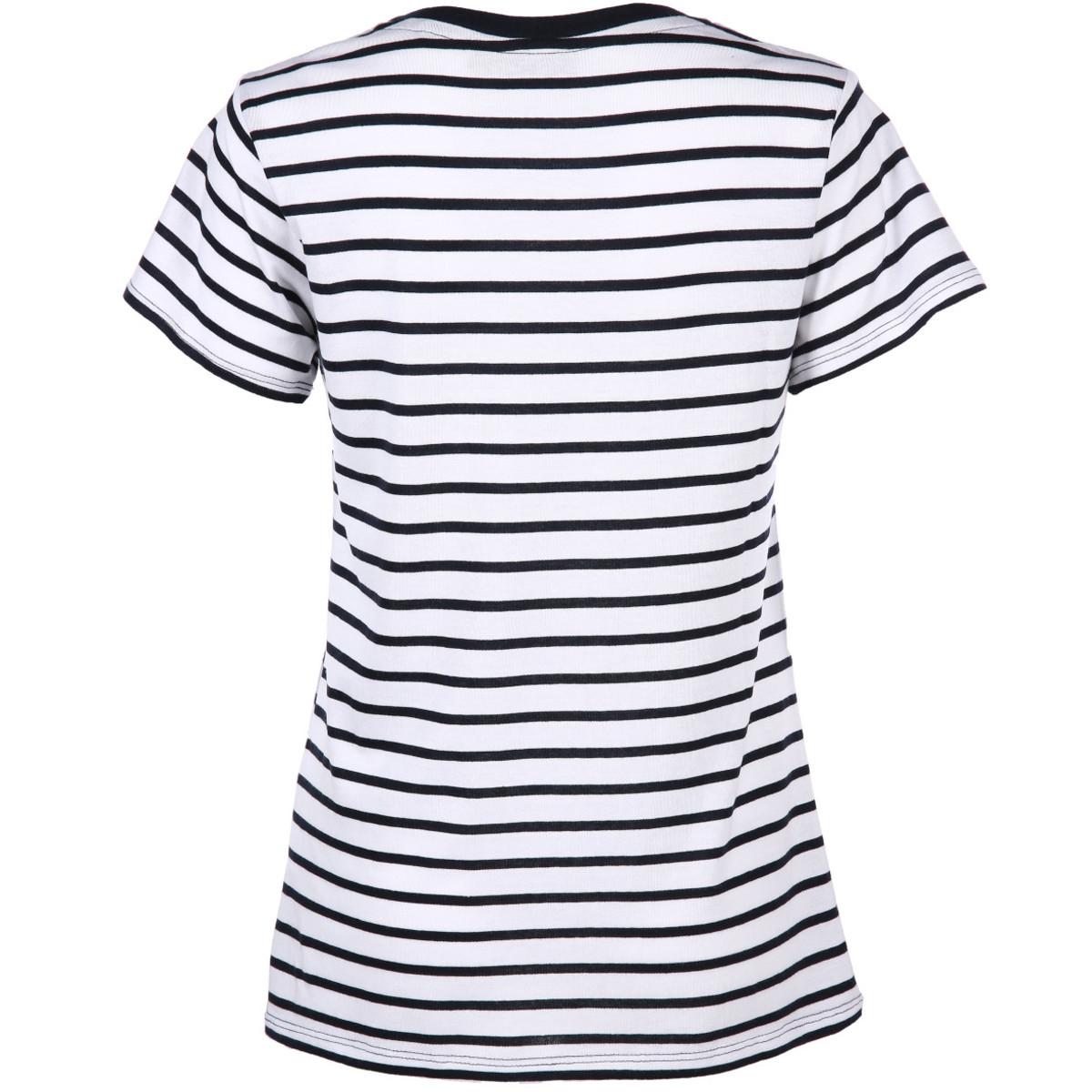 Bild 2 von Damen Shirt mit Streifen und Pailletten