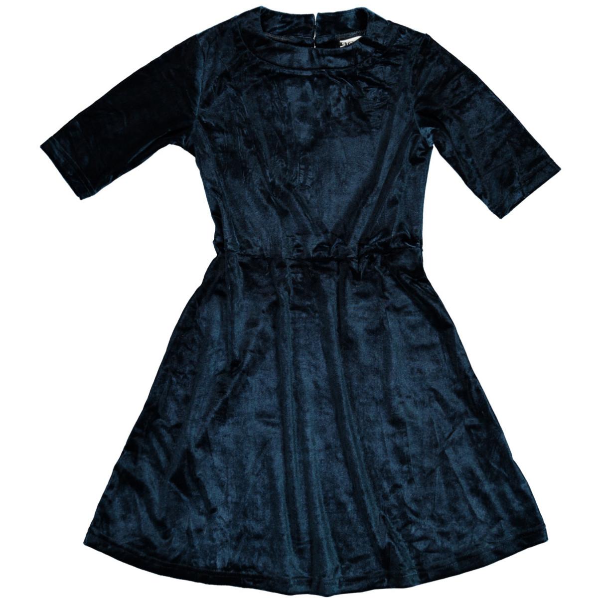Bild 1 von Mädchen Kleid in weichem Samt