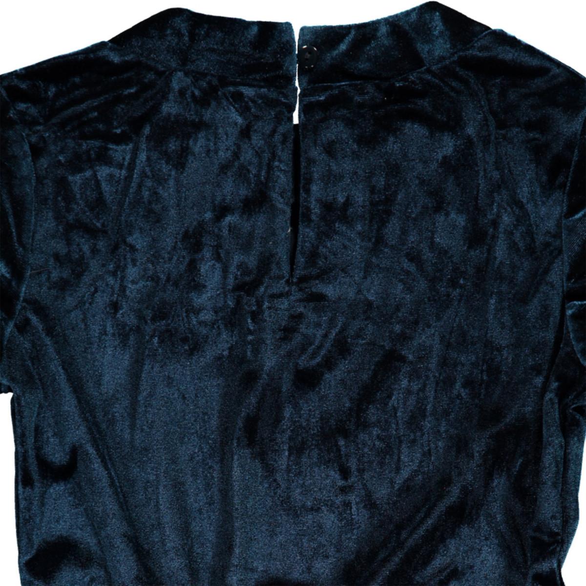 Bild 3 von Mädchen Kleid in weichem Samt