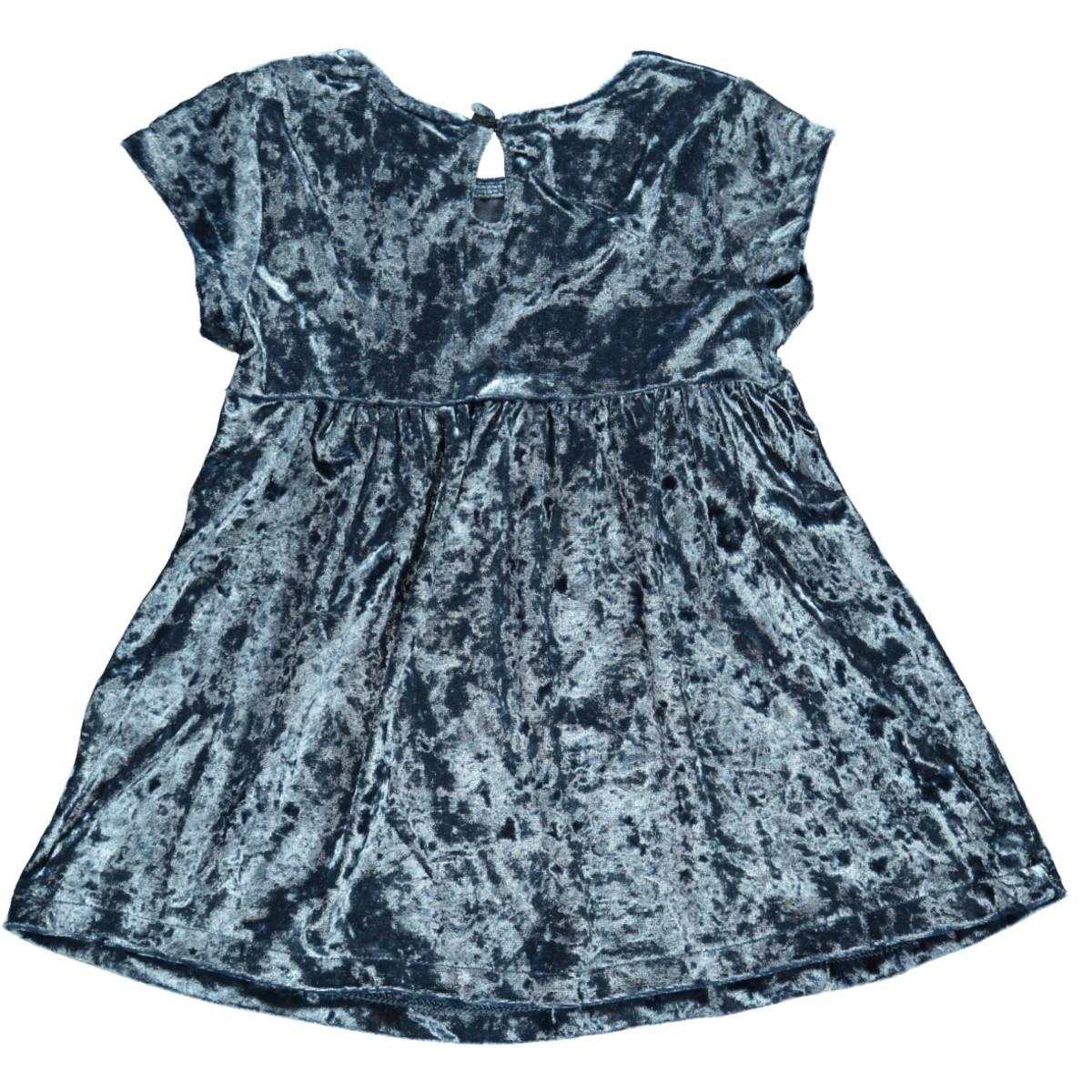 Bild 2 von Mädchen Kleid aus Pannesamt