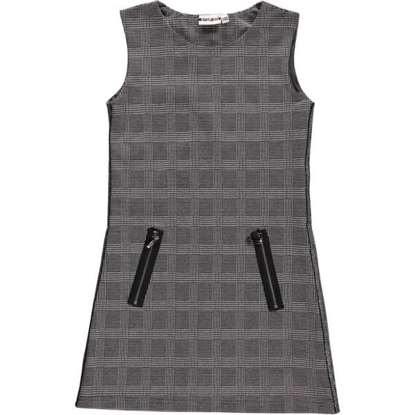 Mädchen Kleid im Glenscheck Muster