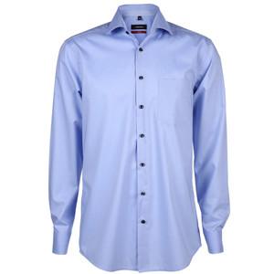 Herren Hemd mit Kontrastknöpfen in Modern Fit