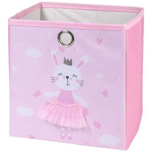 Aufbewahrungsbox mit Hasen-Motiv