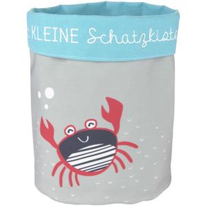 Aufbewahrungskorb mit Krabben-Motiv