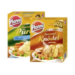 Pfanni Knödel im Kochbeutel oder Kartoffelpüree
