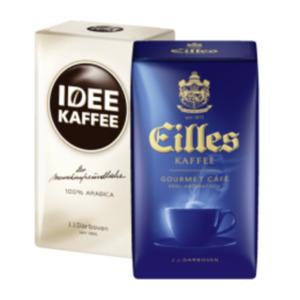 Eilles Gourmet, Idee Kaffee, Dallmayr Classic oder Classic 50 % entkoffeiniert