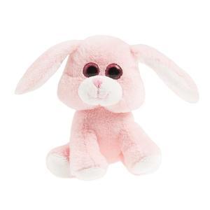 SMIKI Hase rosa sitzend 15 cm
