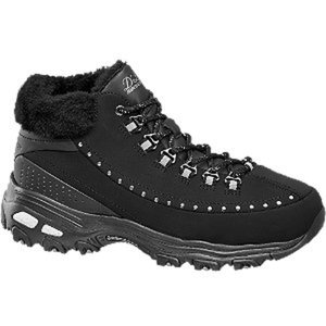 Skechers Trekking Schuh SHORT RHINESTUD LACE UP BOOT