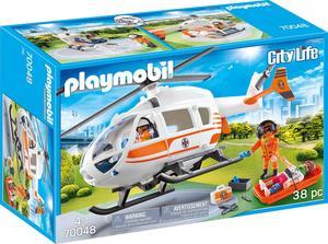 PLAYMOBIL70048 Rettungshelikopter