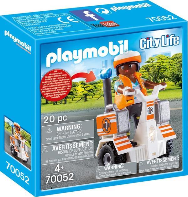 PLAYMOBIL70052 Rettungsbalanceroller