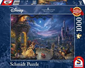 Schmidt Puzzle Disney Die Schöne und das Biest 100