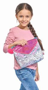 Color Me Mine Glitter Postal Bag