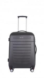 TrendLine Koffer-Trolley schwarz 60 cm