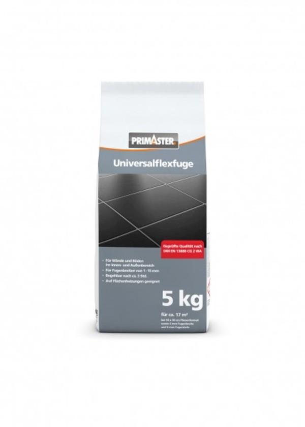PRIMASTER Universalflexfuge weiß 5 kg ,