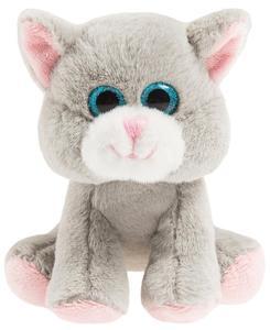 SMIKI Katze grau sitzend 15 cm