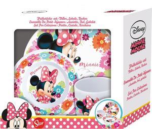 p:os Frühstückset 3-teilig Minnie Mouse