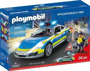 PLAYMOBIL 70067 Porsche 911 Carrera 4S Polizei