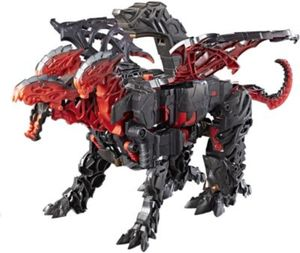 Transformers Movie 5 Mega 1-Step Turbo Changer Dragonstorm
