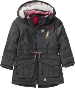 Winterparka mit Pailletten und Polarfleecefutter Gr. 98 Mädchen Kleinkinder