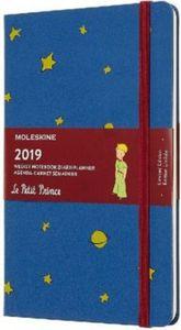 Moleskine Der Kleine Prinz Wochen Notizkalender 12 Monate, 2019, L/A5, Hard Cover, Blau