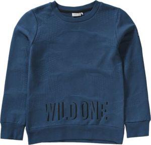 Sweatshirt mit Prägedruck NITKELIX Gr. 122/128 Jungen Kinder