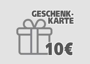 Geschenkgutschein ,  10 EUR Geschenkkarte per E-Mail