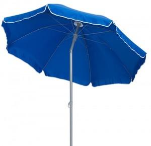 TrendLine Sonnenschirm ,  blau, Ø 180 cm