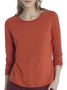 Calida Langarm-Shirt, red orange, rot, L