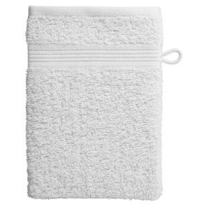 Waschhandschuh KRONBORG® Classic Line (16x21, weiß)