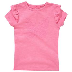 Mädchen T-Shirt mit Schmetterling-Print