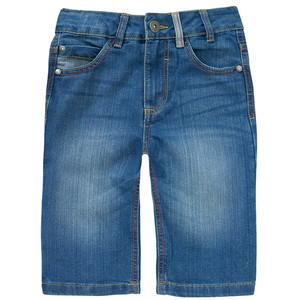 Jungen Jeansshorts mit verstellbarem Bund