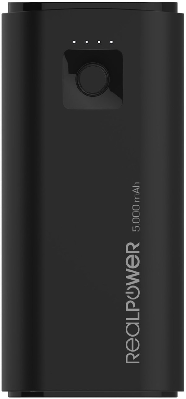 RealPower PB-5000 mini (5.000mAh) Powerbank