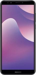 Huawei Y7 2018 Dual-SIM Smartphone schwarz