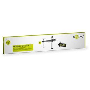 """WENTRONIC Wandhalterung EasyFix UltraSlim XL 37"""" - 70"""" (94-178 cm), Ultraflache TV Wandhalterung, max. Traglast 65 kg"""