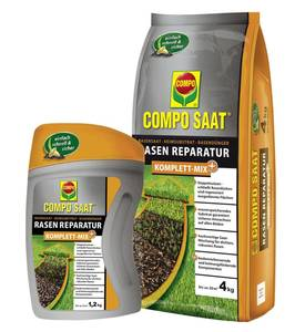 Rasensaat Reparatur Mix - in verschiedenen Packungsgrößen Compo