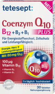tetesept Coenzym Q10 plus B12 + B2 + B1 Tabletten