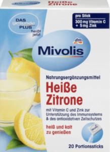Mivolis Heißgetränk Heiße Zitrone, Portionssticks