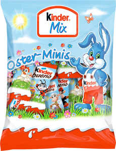 FERRERO KINDER  Mix Oster-Minis