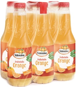 Valensina Frühstücks-Orange 6x 1 ltr PET