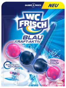 WC frisch Blau Kraft-Aktiv Blüten-Frische Duftspüler 1 Stück