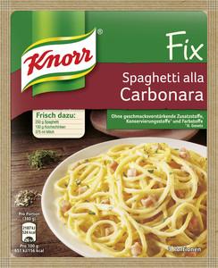 Knorr Fix für Spaghetti Carbonara 38 g