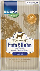 EDEKA Naturals Pute & Huhn Nassfutter für Hunde 125 g