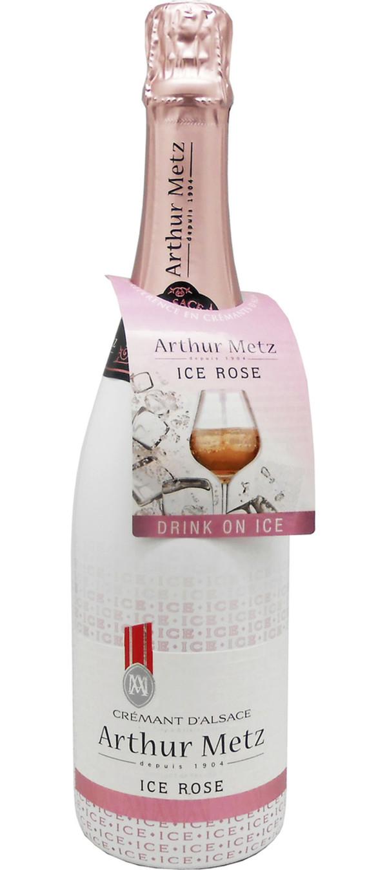 Arthur Metz Cremant D'Alsace Ice Rosé 0,75 ltr
