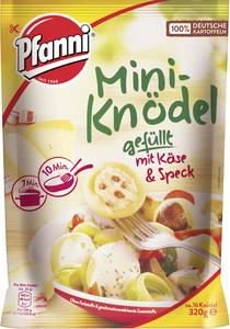 Pfanni Mini-Knödel fefüllt mit Käse und Speck 320 g